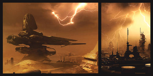Worldview: two thumbnails by JamesLedgerConcepts