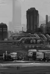 Greyscale City