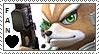 Fox McCloud Stamp by KursedRamone