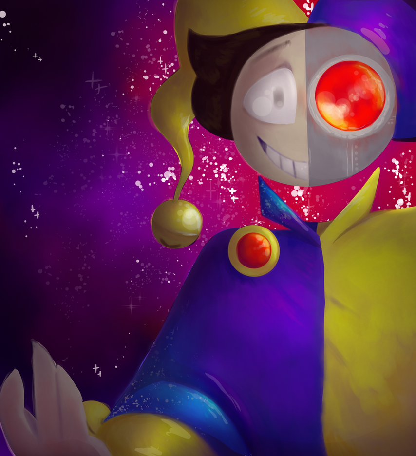 space man, take me by the hand by SuperFlameKitty