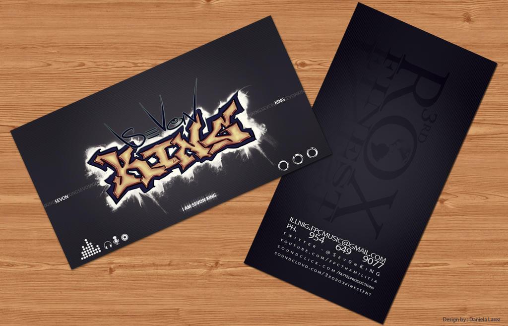 Sevon king business card by danielalarez on deviantart sevon king business card by danielalarez colourmoves