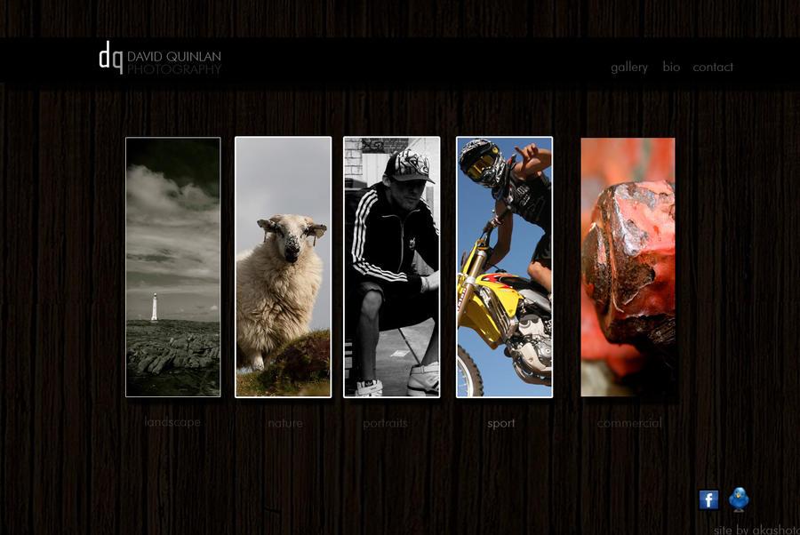David Quinlan Photography Webs by Akashoto