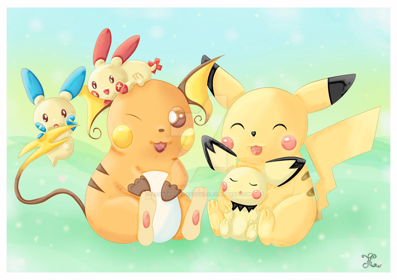 Pikachu Family Pokemon Images