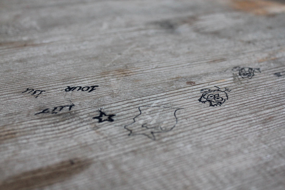 Wooden table close up by y on deviantart