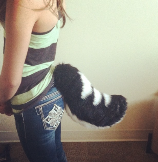 Stubby Tail by FoxeeTreasures