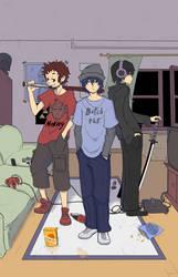 3 guys by Quiten