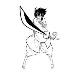 Kichi Lineart by Quiten