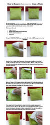 Removing Mayonnaise from a Plushie by clopaholic