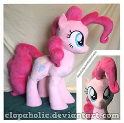 Heavyweight Lifesize+ Pinkie Plush by clopaholic