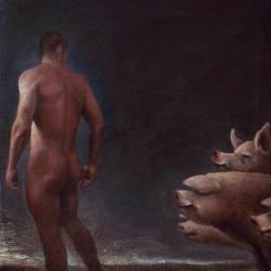 Pig Tail by DeRoodeKoning