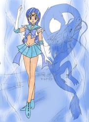 Dragon Goddess - Sailor Seiryu by AngelOfBeauty88