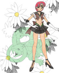 Serpent Goddess - Sailor Genbu by AngelOfBeauty88