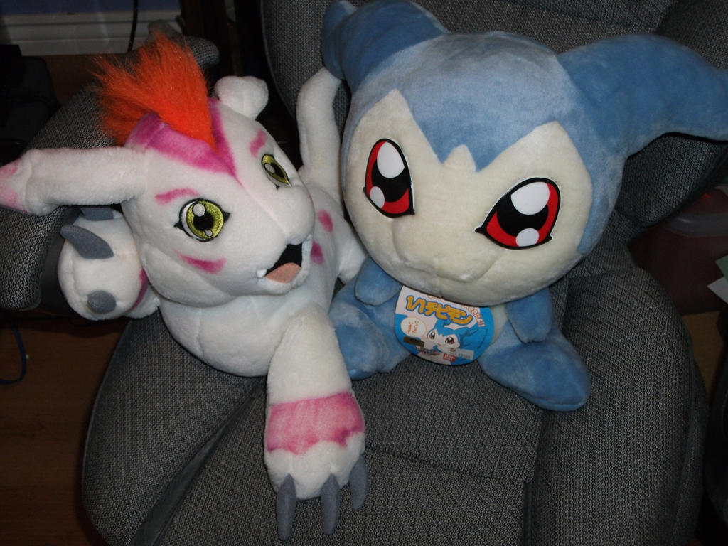 Digimon Plush - Gomamon and Chibimon! by Jessicat715