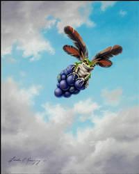 Grape Caper by LindaRHerzog