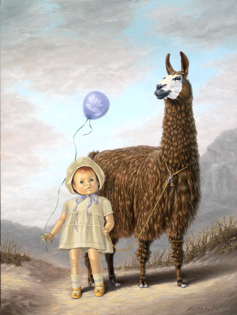 Dolly Llama by LindaRHerzog