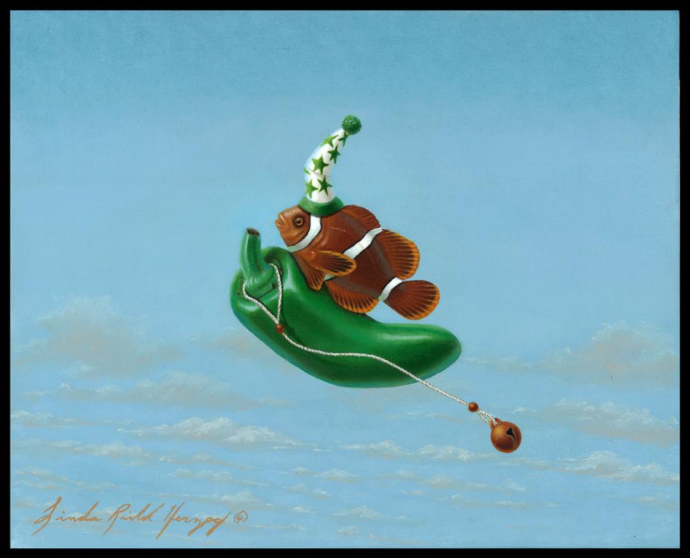 Jalapeno Clown by LindaRHerzog