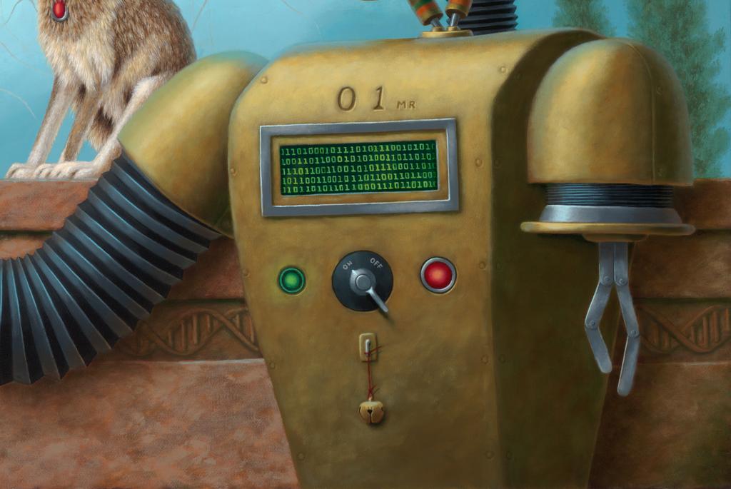 Zero One - detail by LindaRHerzog