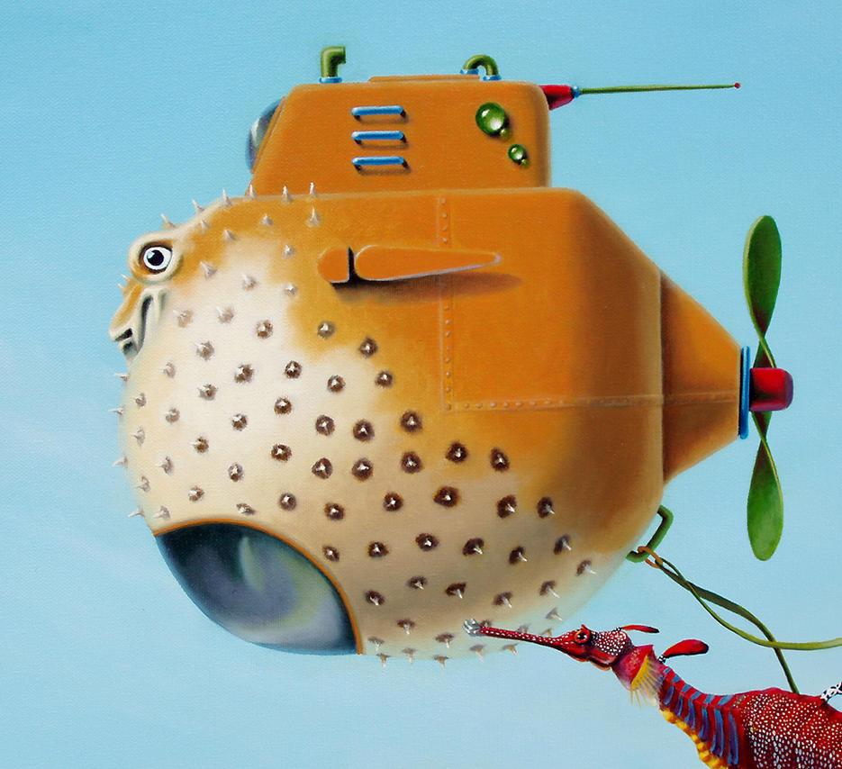 подводная лодка для рыбы