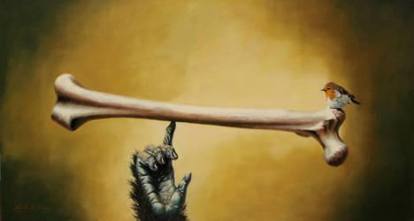 Digit's Balance by LindaRHerzog