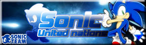 Sonic united nations Banner