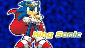 King Sonic wallpaper