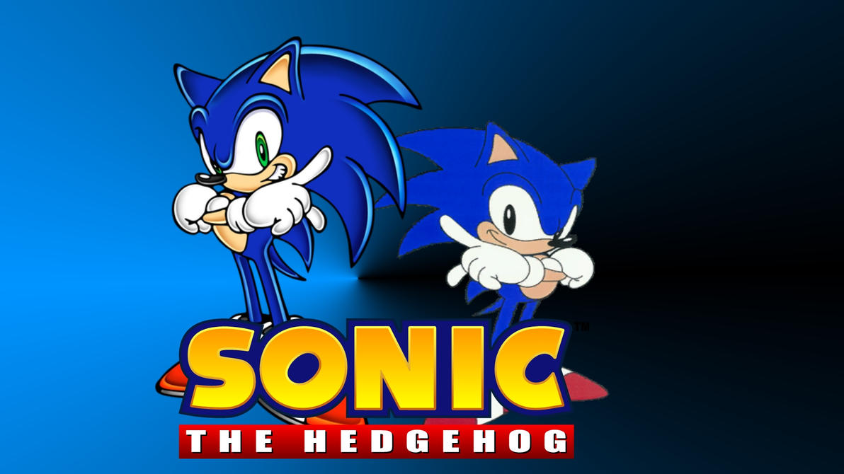 Sonic The Hedgehog Wallpaper By BlueSpeed360
