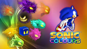 Sonic Colors - Forms Wallpaper