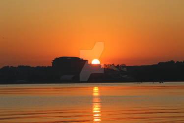National Harbor at Dawn