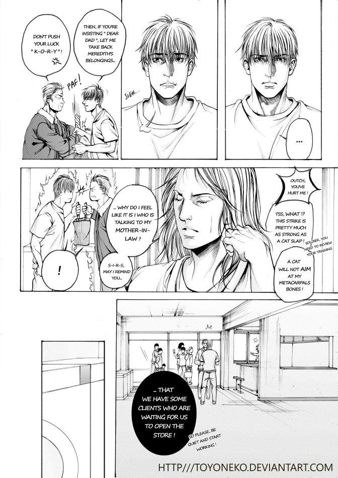Somewhere Else - A broken man p.12 by ToyoNeko