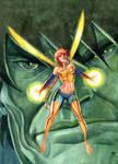 Avengers Wasp and Hulk