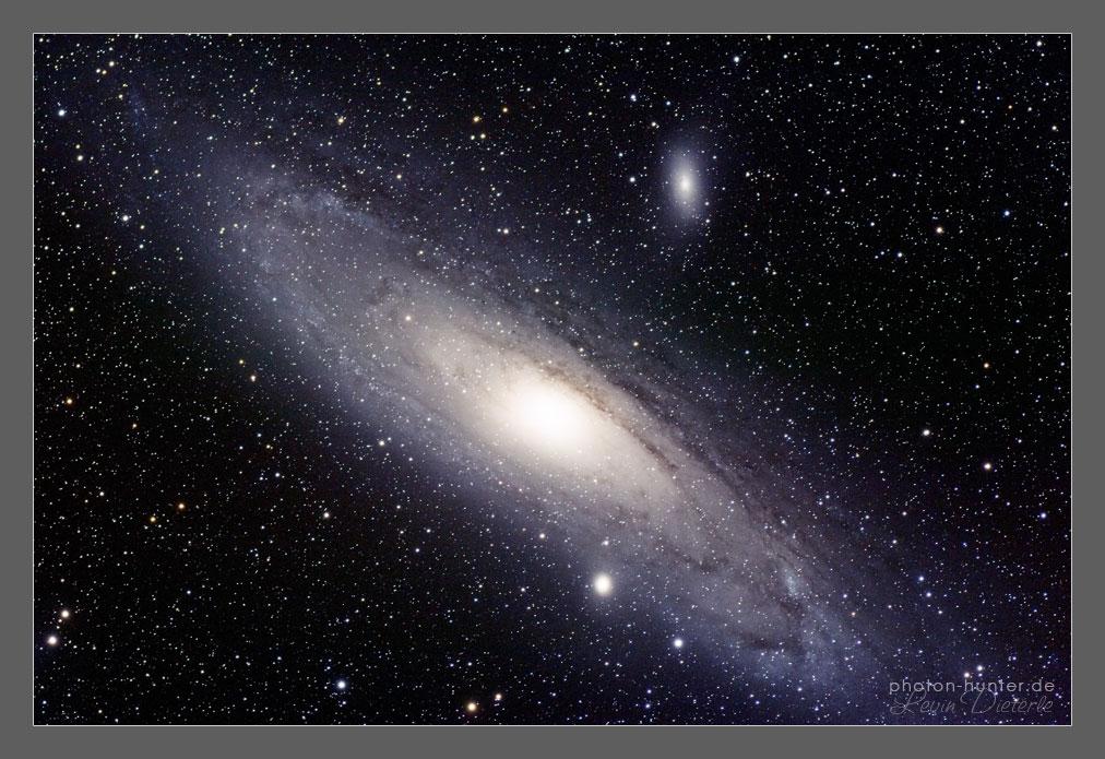 Andromeda Galaxy by photon-hunter