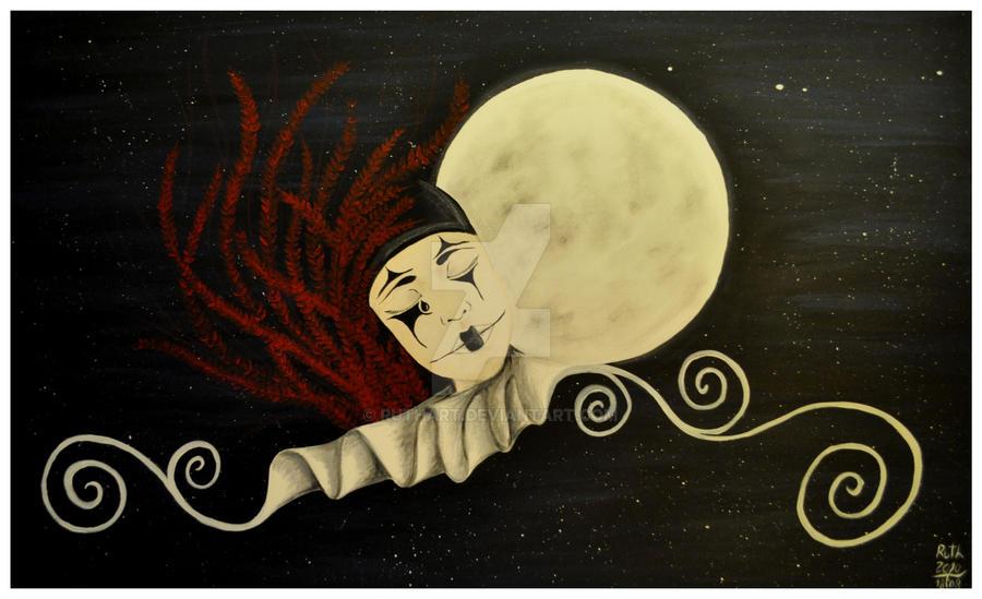Pierrot The Sad Clown by ruthart on DeviantArt