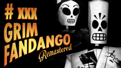 Grim Fandango Thumbnail Template