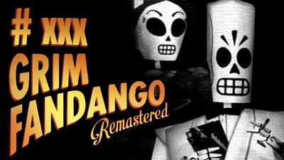 Grim Fandango Thumbnail Template by Volldagora