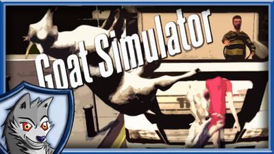 Goat Simulator Thumbnail by Volldagora
