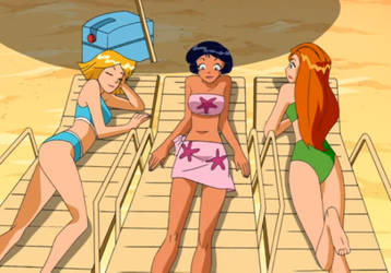 totally spies naked