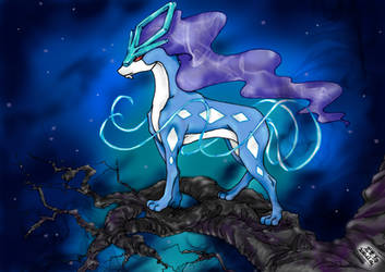 .:Suicune:. by EmbryonalBrain