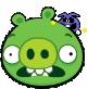 Yum Green Pig by jenjanel