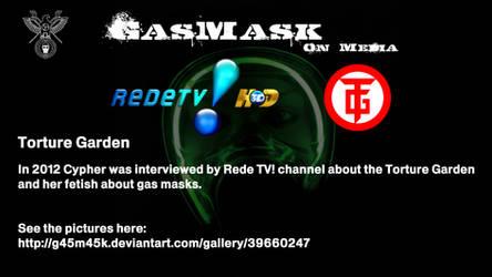 2012 - Rede TV! - Torture Garden