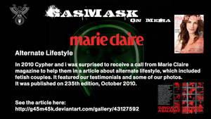 2010 - Marie Claire - Alternate Lifestyle