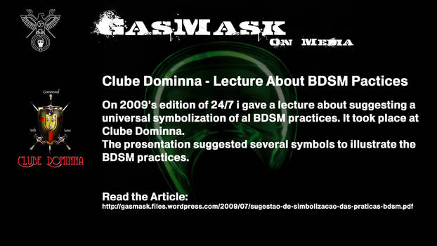 2009 - Dominna - Lecture About BDSM Practices