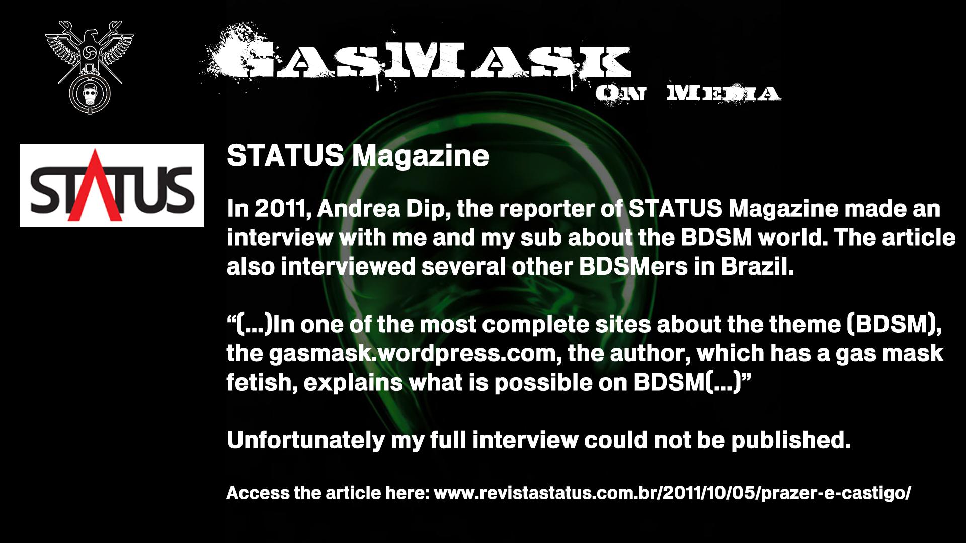 2011 - Status Magazine