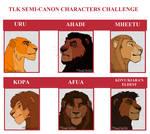 TLK Semi-Canon Characters Challenge