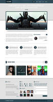 PowerTrip (Responsive WordPress Template)