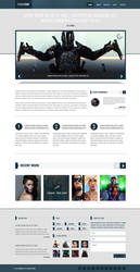 PowerTrip (Responsive WordPress Template) by Nicholson85