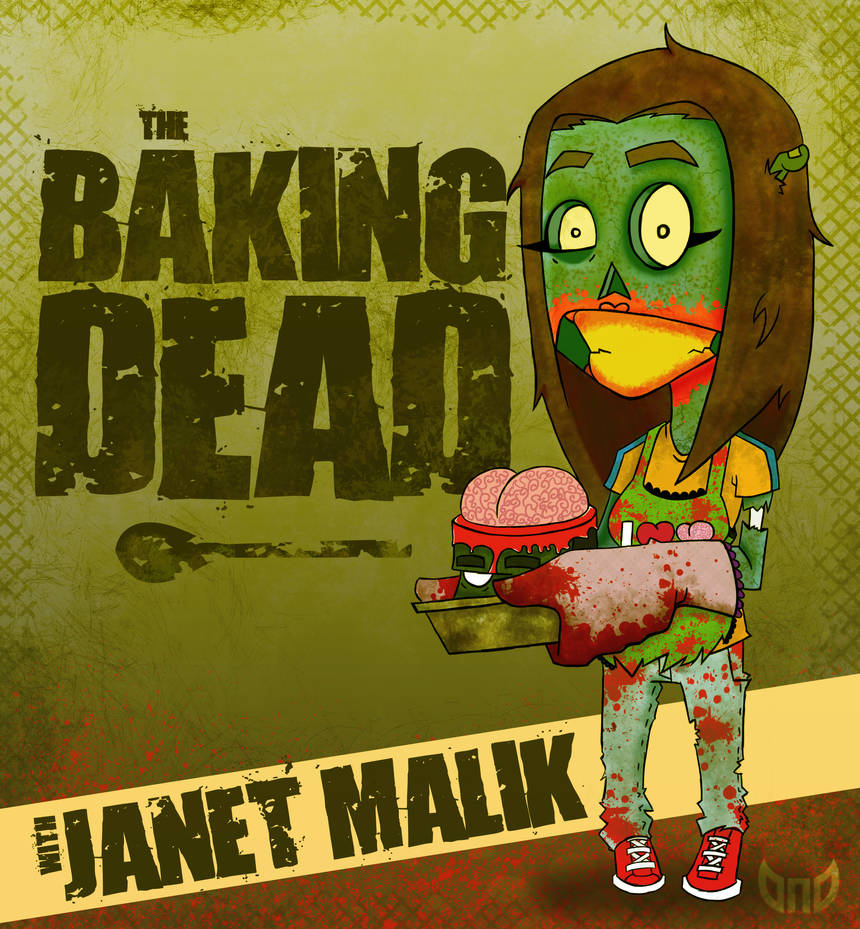 The Baking Dead - janet M-Zombie'd