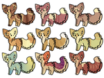 Dog adoptables auction OPEN