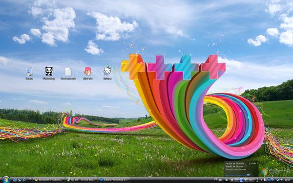 Colorful desktop by darviana