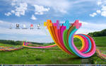 Colorful desktop