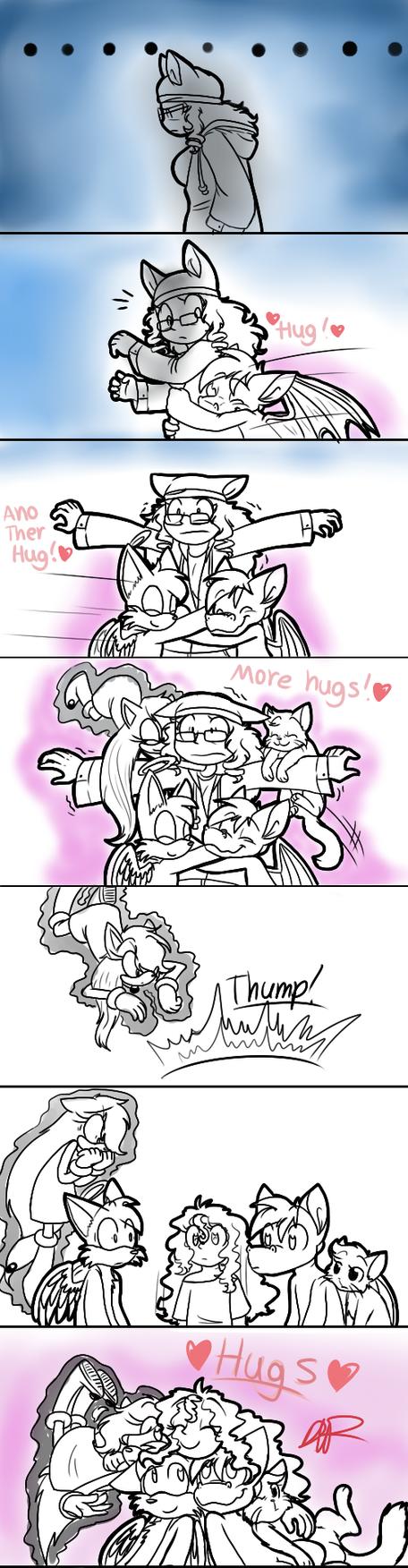 National Hug Day comic by payero01